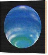 Neptune's Changing Seasons Wood Print