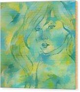 Nerissa  Daughter Of The Sea Wood Print
