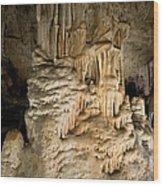 Nerja Caves In Spain Wood Print