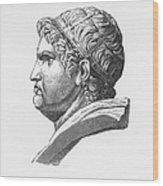 Nero (37-68 A.d.) Wood Print