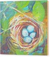 Nest Of Prosperity 1 Wood Print