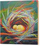 Nest Of Prosperity 7 Wood Print