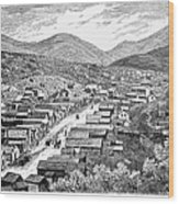 Nevada: Austin, C1880 Wood Print