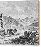 Nevada: Washoe Region, 1862 Wood Print