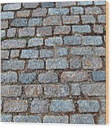 New Bedford Mass Brick Street 2006 Wood Print