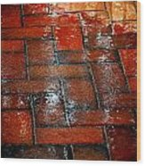 New Brick Wood Print