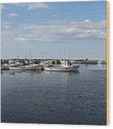 New Brunswick Harbour Wood Print