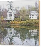 New England Reflections 3935 Wood Print
