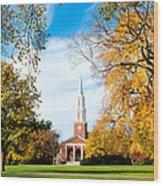 New England Style Wood Print
