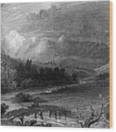 New Hampshire, 1838 Wood Print