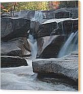 New Hampshire Waterfall 1 Wood Print