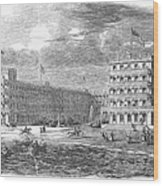 New Jersey Hotel, 1853 Wood Print