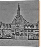 New Jersey Terminal Wood Print