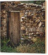 New Mexico Door II Wood Print