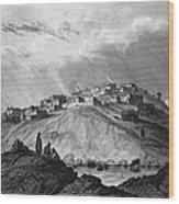 New Mexico: Laguna Pueblo Wood Print