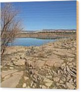 New Mexico Series - Abiquiu Lake IIi Wood Print
