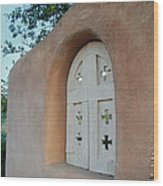 New Mexico Series - Adobe Arch Wood Print