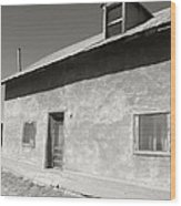 New Mexico Series - Adobe House In Truchas Wood Print