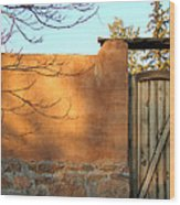 New Mexico Series - Doorway II Wood Print