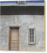 New Mexico Series - Doorway IIi Wood Print
