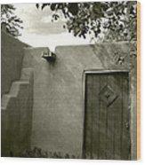 New Mexico Series - Doorway Iv Wood Print
