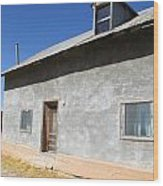 New Mexico Series - House In Truchas Wood Print