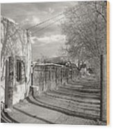New Mexico Series - Late Day Wood Print