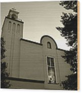 New Mexico Series - Our Lady Of Guadalupe Church Wood Print