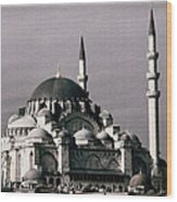 New Mosque Wood Print