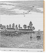 New Orleans, 1719 Wood Print