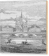 New Orleans, 1853 Wood Print