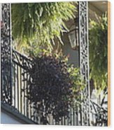 New Orleans Afternoon Light Wood Print