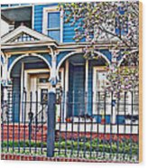 New Orleans Class Wood Print
