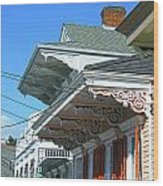 New Orleans Home Uptown Wood Print