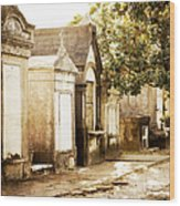 New Orleans Lafayette Cemetery No.1 Wood Print