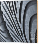 New Racing Tires Wood Print