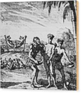 New World: El Dorado, 1727 Wood Print