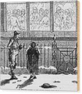 New Years Eve, 1859 Wood Print