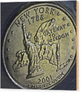 New York 2001 Wood Print