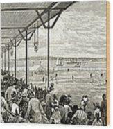 New York: Baseball, 1886 Wood Print