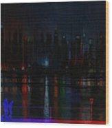 New York Bridges Wood Print