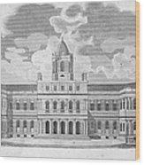New York: City Hall, C1829 Wood Print