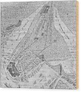 New York: El Train, C1878 Wood Print