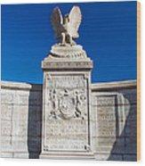 New York Monument Wood Print
