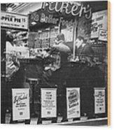 New York: Restaurant, 1948 Wood Print