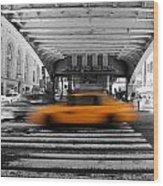 New York Taxi 1 Wood Print