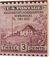 Newburgh Ny Postage Stamp Wood Print