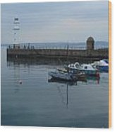 Newhaven Harbour Lighthouse Wood Print