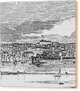 Newport, 1853 Wood Print