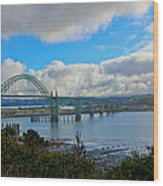 Yaquina Bay Bridge Wood Print
